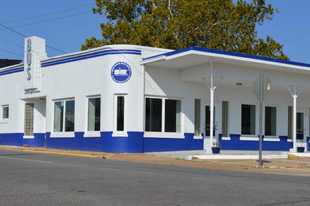 Brenham Bus Depot